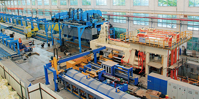 7500T extrusion line
