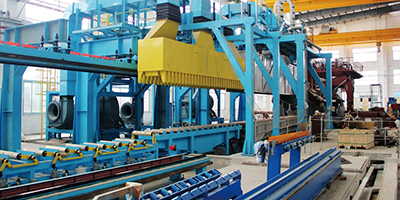 5500T dual-drive extrusion line